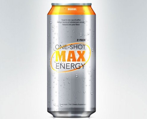 energy drink graphic design