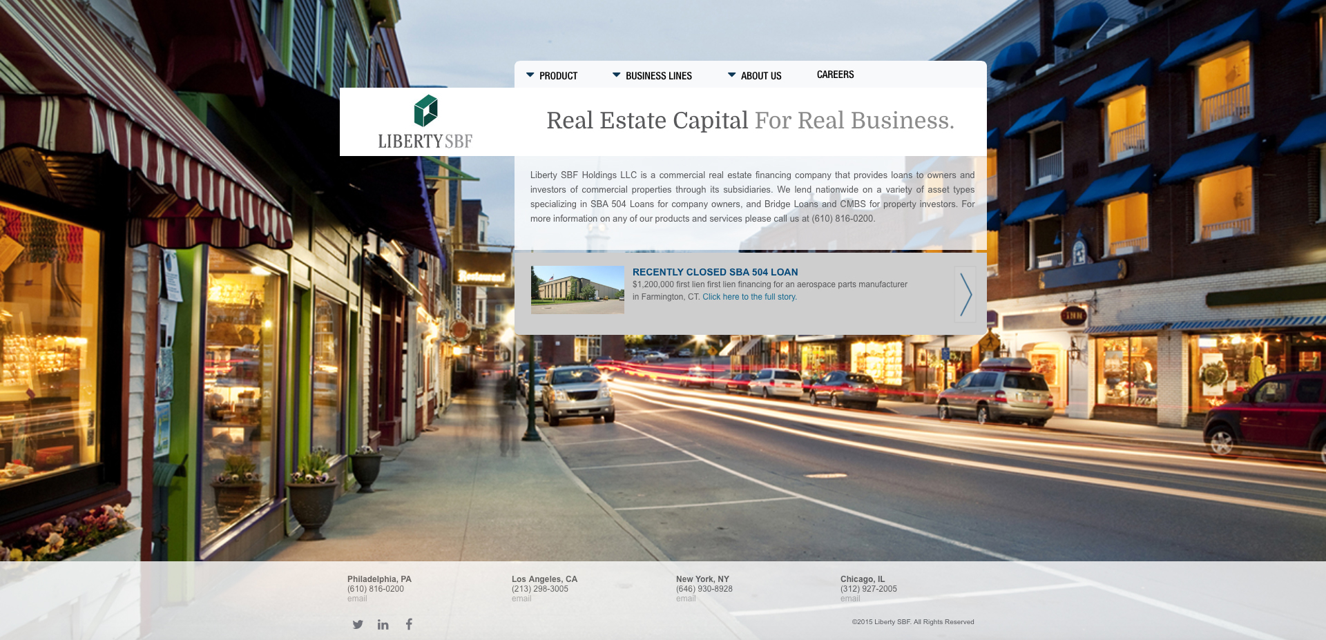 website design mortgage bank