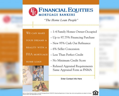 Advertising Flyer Design Mortgage