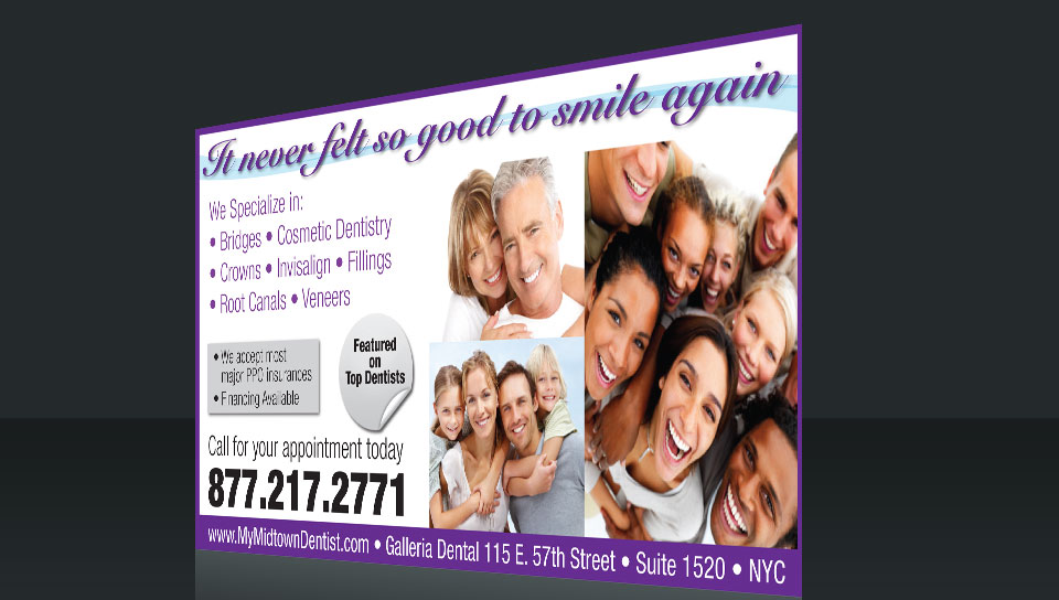 Postcard Marketing Dentist