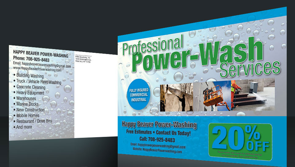 Postcard Marketing Power Washing