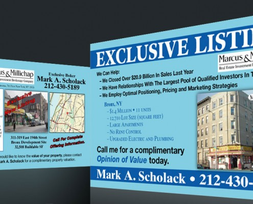 Postcard Marketing Commercial Real Estate