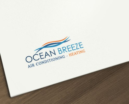 Logo Design Air Conditioning & Heating