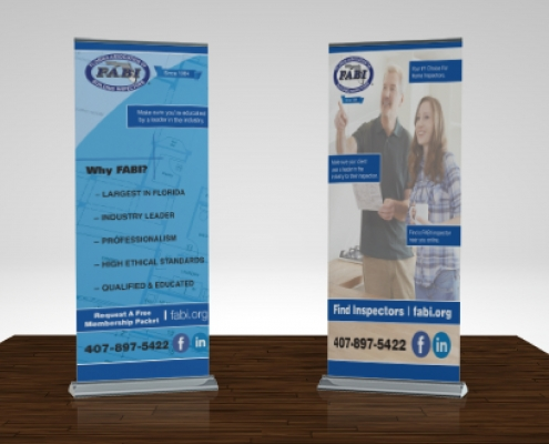 Retractable Banner Stand Design
