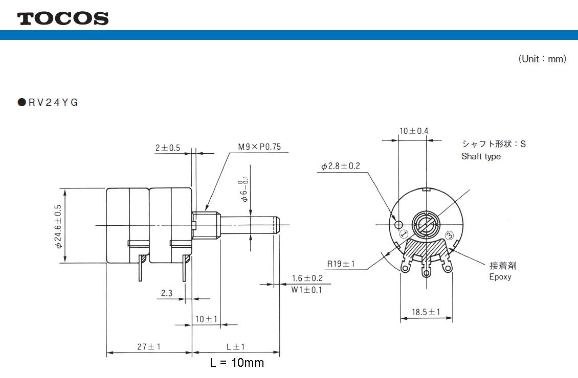 100k Potentiometer Wiring Diagram : 33 Wiring Diagram