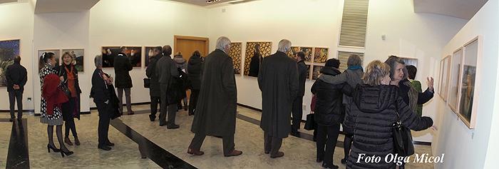 Immagini dell'inaugurazione della mostra