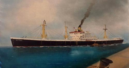"""Memorie delle Navi Liberty"" - Mostra di pittura del capitano Giannis Giapalakis."