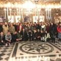 Φωτογραφικό στιγμιότυπο από την επίσκεψη του Λυκείου Ευκαρπίας Θεσσαλονίκης στην Ελληνορθόδοξη Εκκλησία του Άγιου Νικόλαου.