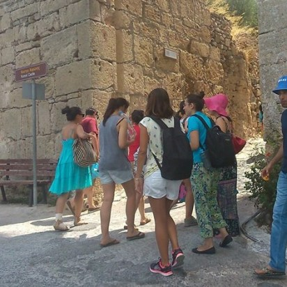 Summer Academy 2014 - excursion to ancient Olympia.