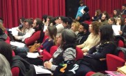 Both seasoned translators, students of translation and the general public were in the audience, generating lively discussion.