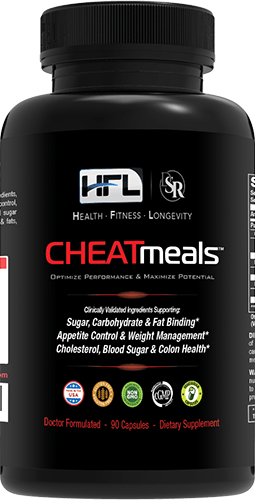 "CHEATmeals Bottle - ""Get Energized & Feel Younger"""
