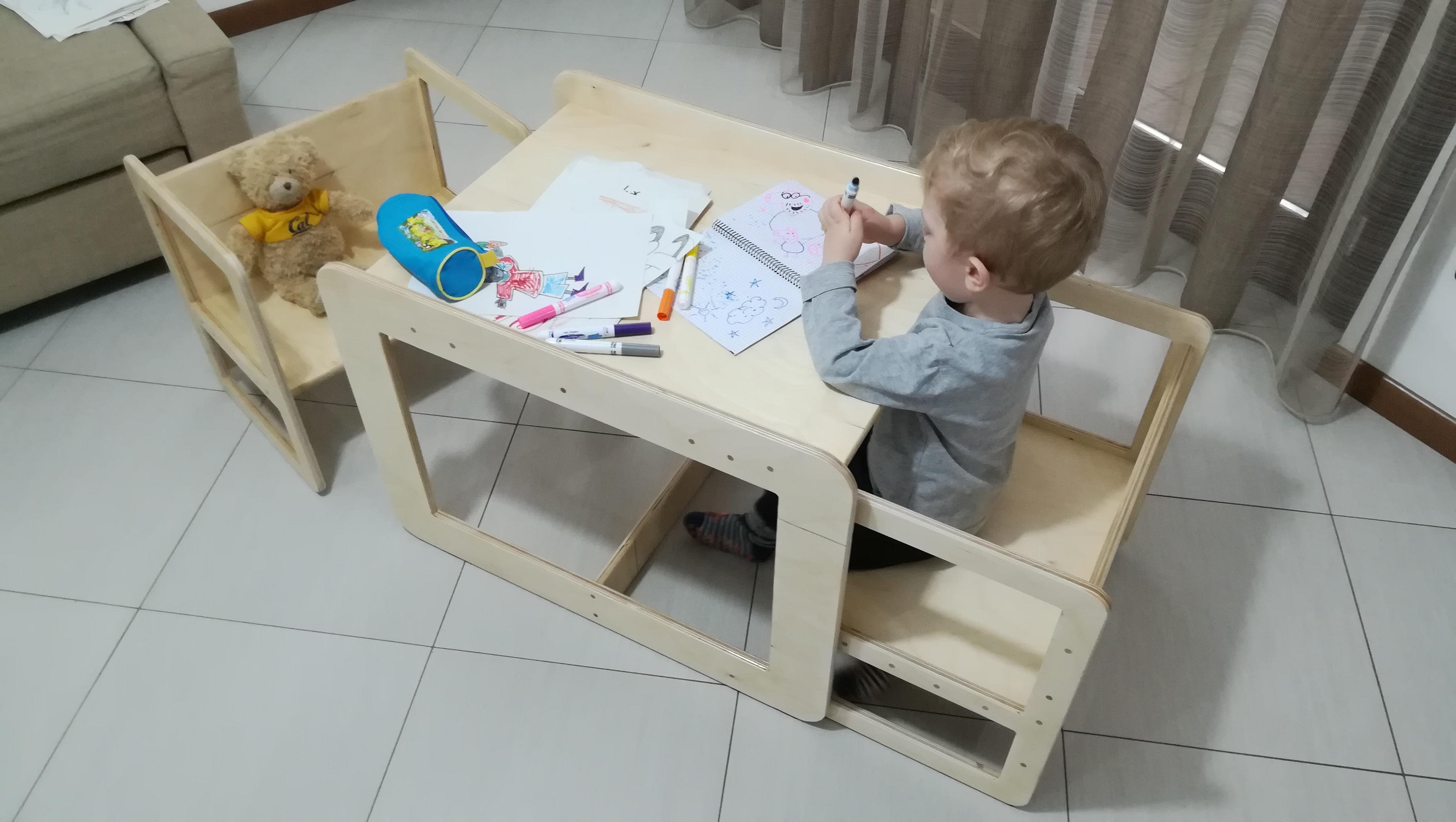 Informazione: Tavolo Per Bambini Montessori