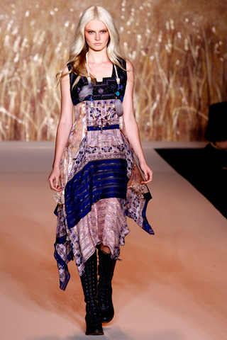Anna Sui SS 2011  H for Helsinki