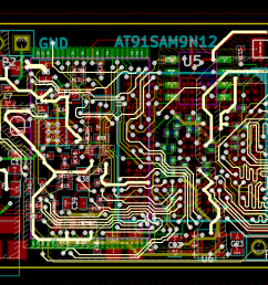 pcb layout copper pours are not filled  [ 1569 x 767 Pixel ]