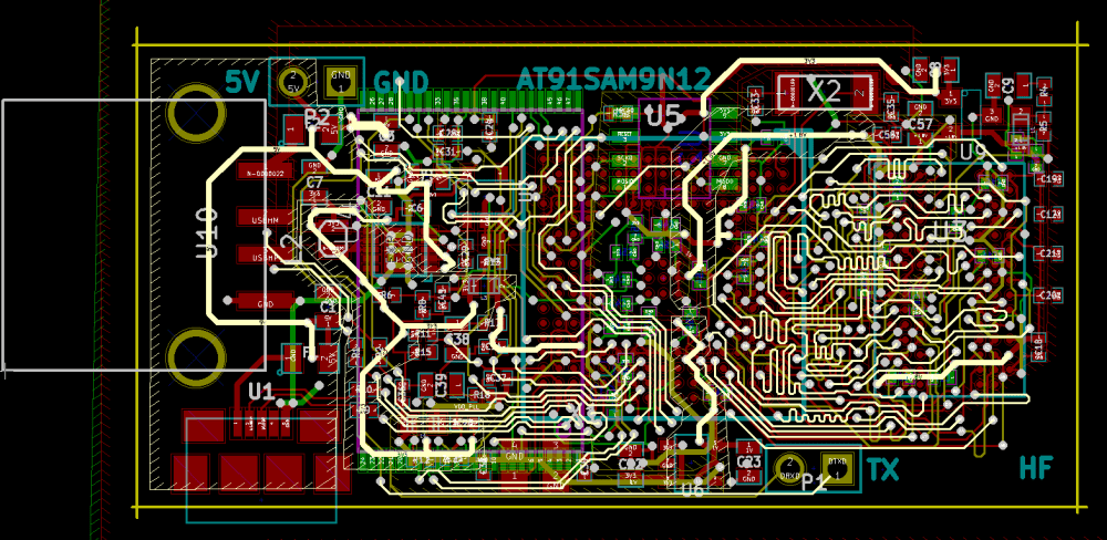 medium resolution of pcb layout copper pours are not filled