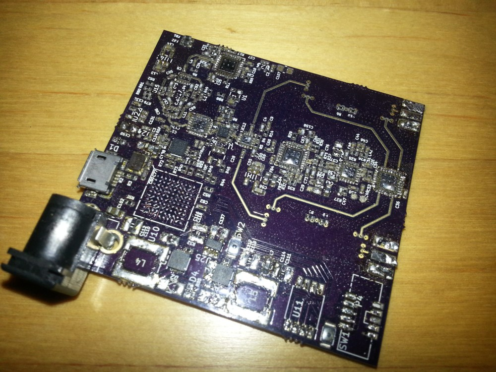medium resolution of ruined pcb after removing the components