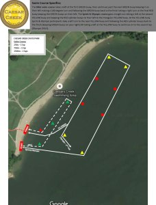 FIT Family Series: Caesar Creek State Park Swim Course