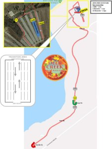 Deer Creek Fall Challenge Run Map