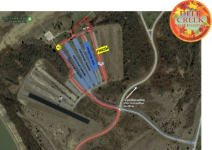 Deer Creek Fall Challenge Staging map