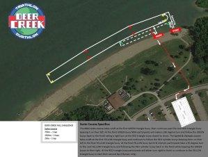 FIT Deer Creek Swim Map