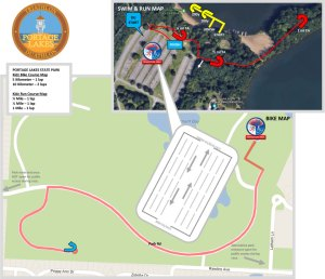 FIT Family Series: Portage Lakes Kidz course map