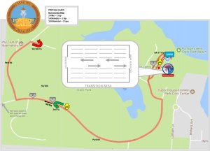 FIT Family Series: Portage Lakes Run course map