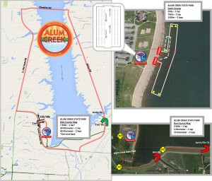 FIT Family Series: Alum Creek adult course maps