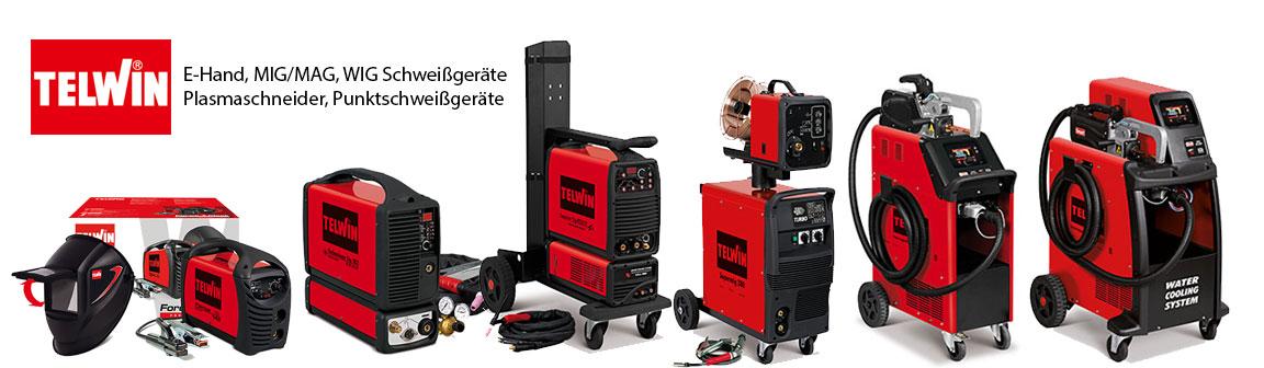 HFS Handel für Schweißtechnik Schweißgeräte E-Hand MIG/MAG WIG Plasmaschneider Punktschweißgeräte Schweißzubehör