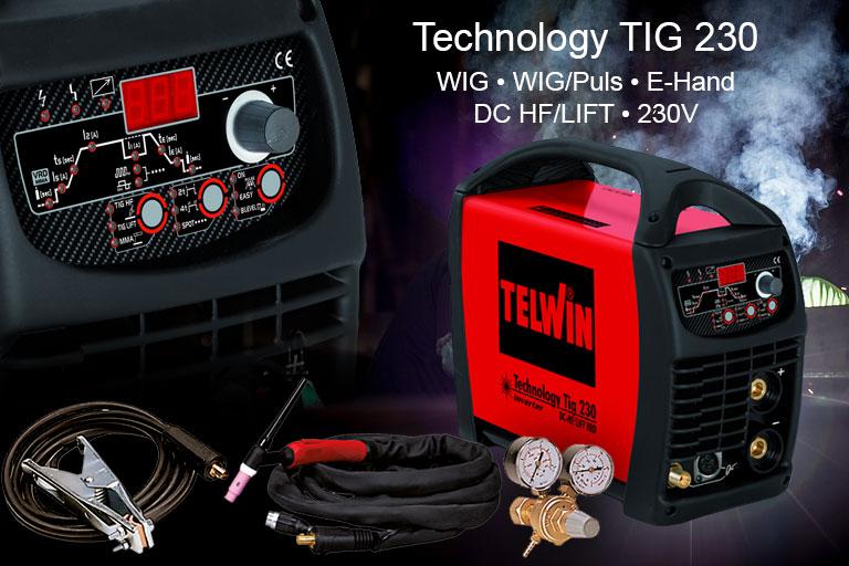 WIG Schweißgerät Technology TIG 230 von Telwin