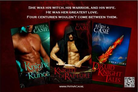 Druid Knight Series 3 Book Spread