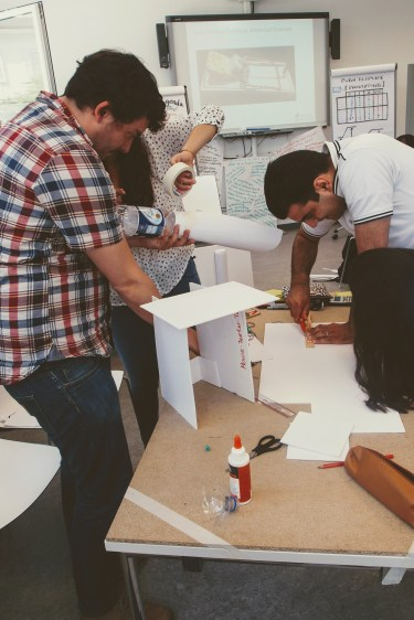 Prototyping - Turning concepts from paper to 3D demos