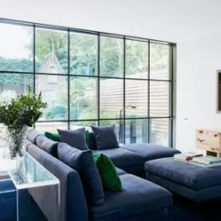 Morden Living Room Dream Rooms Modern Ideas House Garden With Floor To Ceiling Windows