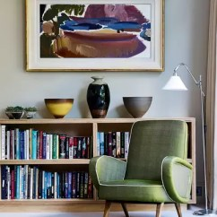Furnishing A Tiny Living Room Virtual Layout Small Ideas House Garden Adam Sykes London Was Inspired By The Houses He Saw While On America S West Coast Armchair Bought At Mid Century Show Lord Cricket
