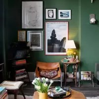 retro living room and kitchen divider modern ideas furniture designs decorating forest green sitting