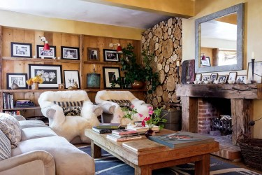 Small Cozy Cottage Country Living Room Design Ideas House & Garden