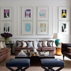 White Living Room Furniture Decorating Ideas 2 Simple Picture Frames Designs Hung In Panelling