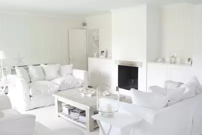 all white living room ideas wall mount tv for small house garden commit to an scheme it s well proven make a space seem bigger plus the effect is so dazzling that if nothing else ll distract anyone from