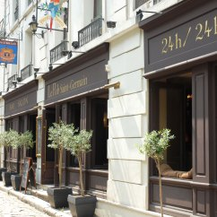 Long Sofas Leather Designer For Sale Le Pub Saint-germain - One Of The Best Pubs In St Germain ...