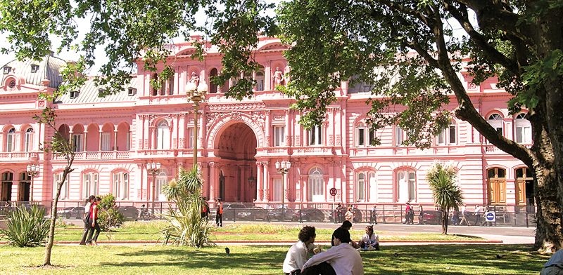 La Casa Rosada  One of the Best Palaces in Monserrat Buenos Aires