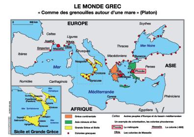 Le monde des cités greques