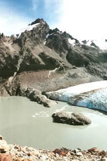 Laguna et glacier Torre