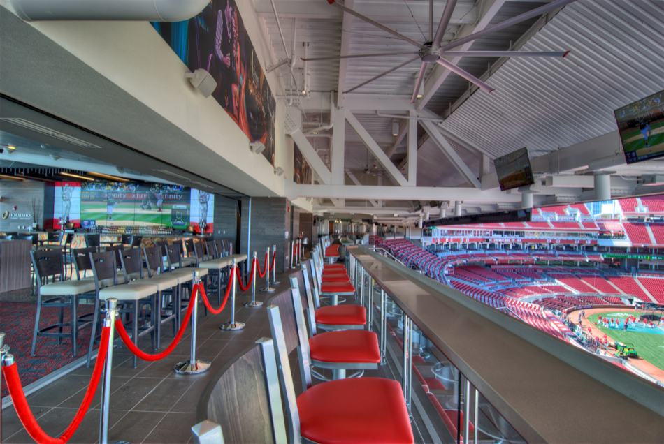 Our Work Handlebar  Great American Ball Park  HGC