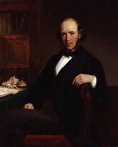 Herbert Spencer, by John Bagnold Burgess (died 1897)