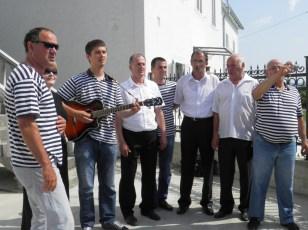 Predsjednica Kolinda Grabar-Kitarović u Boki, doček