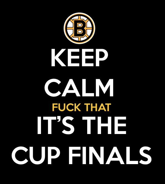 IT'S THE CUP FINALS