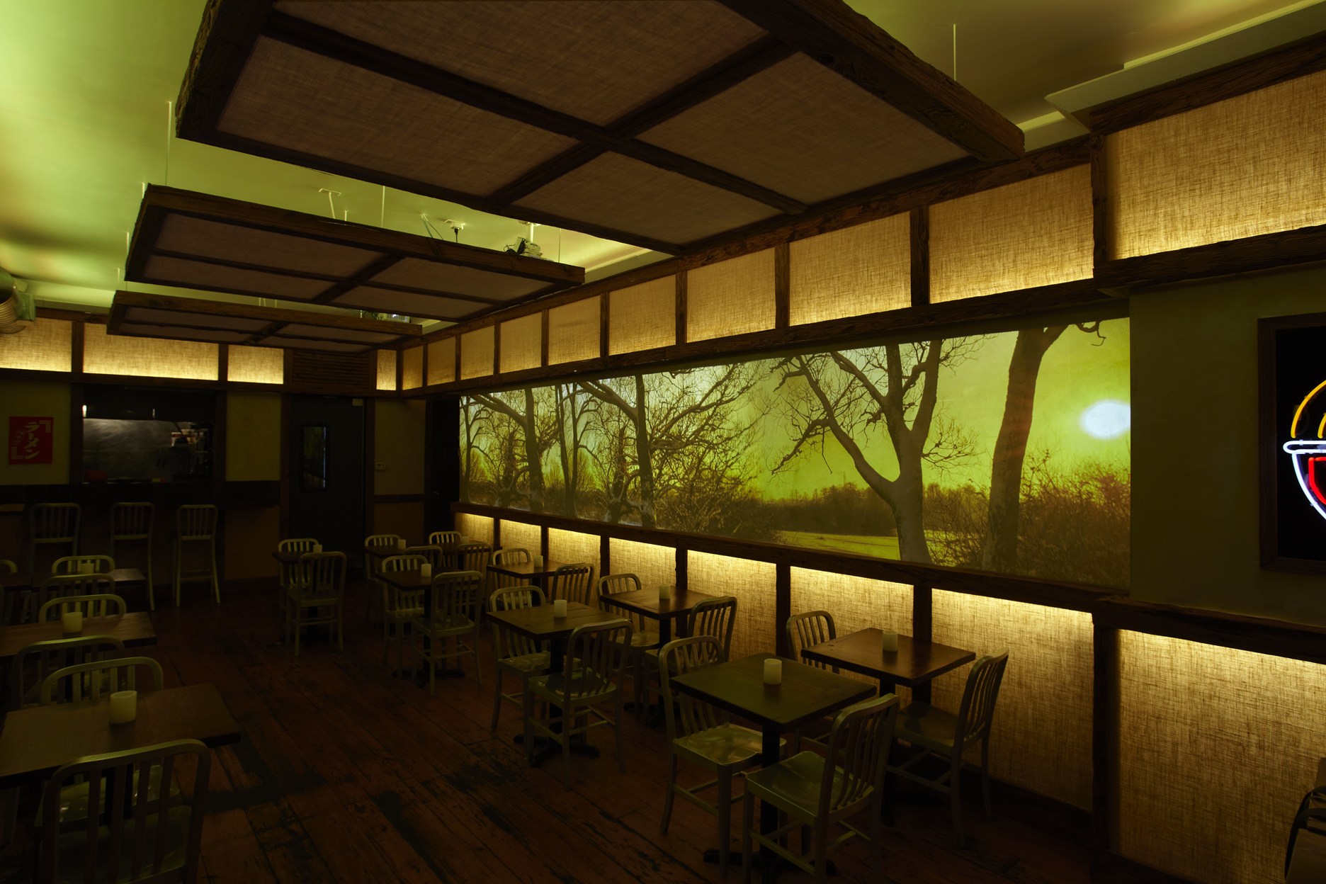 Dassara Restaurant Brooklyn  hglightingdesign
