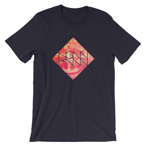 C211: BRICKS (TEE) navy