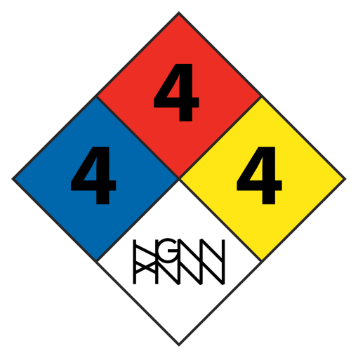 C291: HAZARDOUS MATERIAL detail white