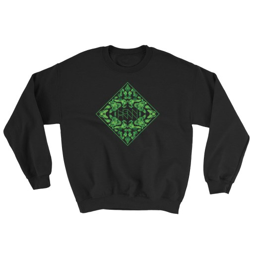 C334: RORSHAK (SWEATSHIRT) black