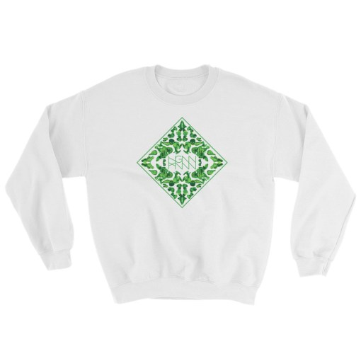 C334: RORSHAK (SWEATSHIRT) white